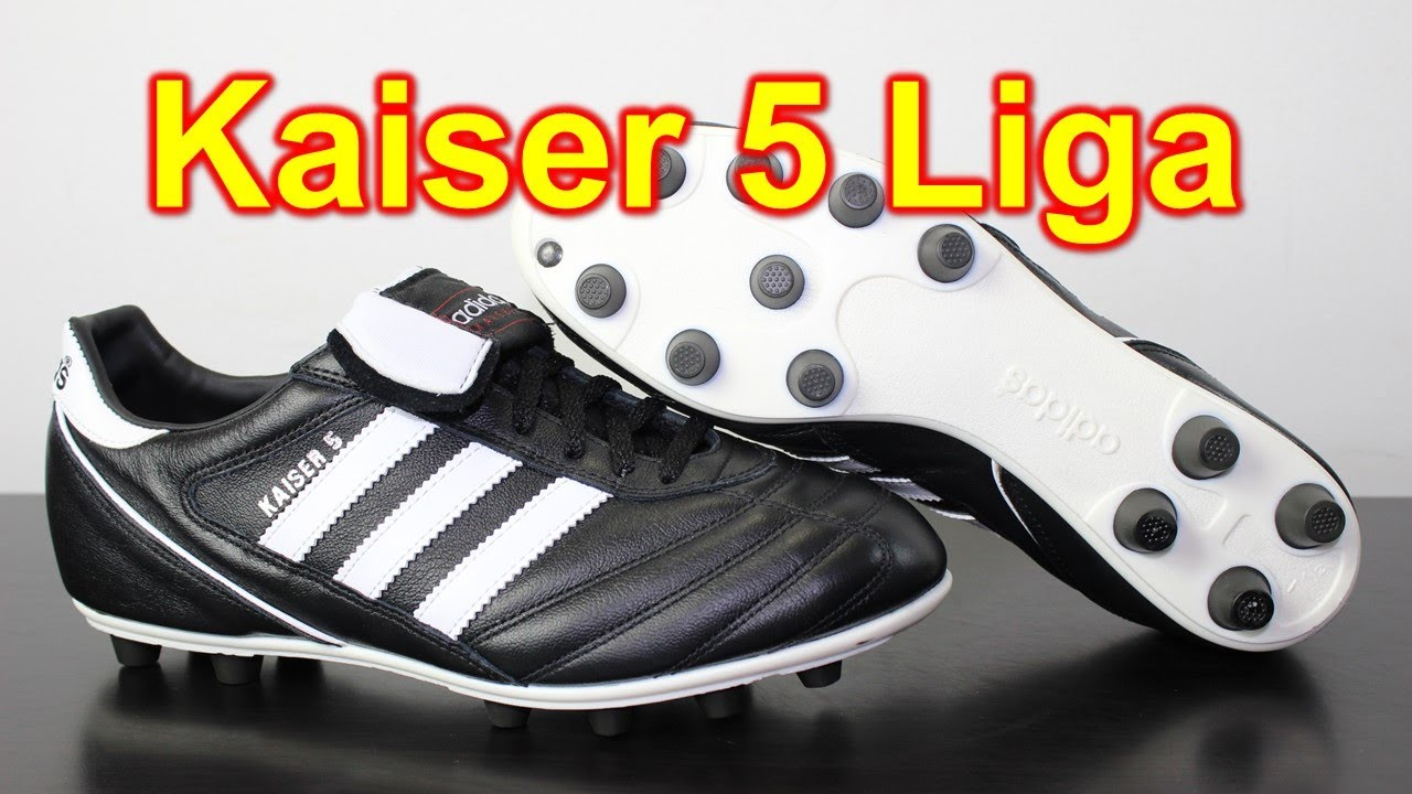 low priced 53df0 f64cc Adidas Kaiser 5 Liga - Unboxing + On Feet - YouTube