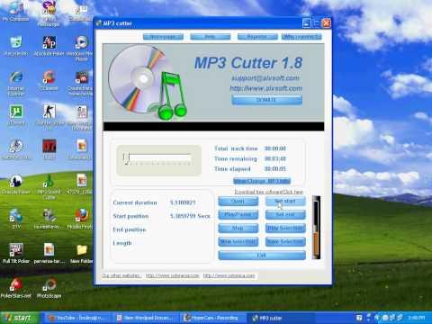 Cum sa scurtati o melodie cu mp3 cutter