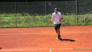 Learning The Optimal Forehand And Backhand Racquet Path