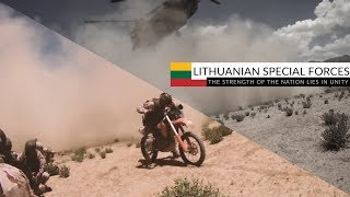 "Lithuanian Special Forces | ""The strength of the nation lies in unity"""