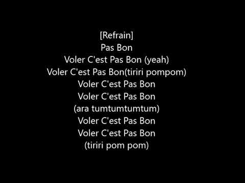 Abou Debeing ft Dadju - C'est pas bon Parole/Chonson