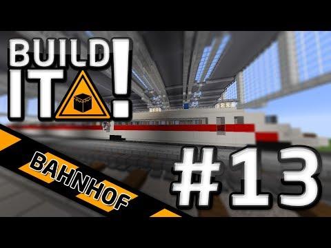 Build It! - Bahnhof #13 Ich mag Züge | Minecraft | Porkchop Media