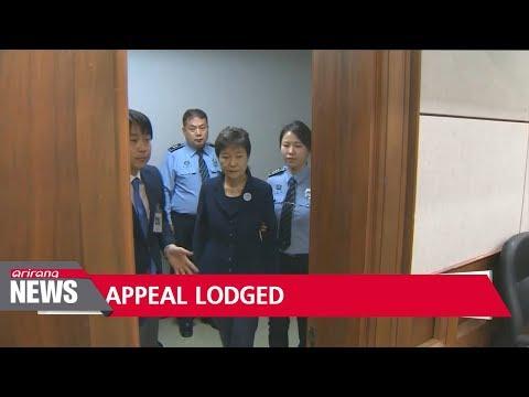Former President Park Geun-hye appeals against 24-year sentence