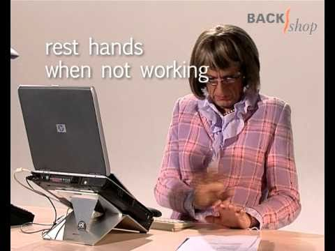 Backshop RSI & Ergonomics: Workplace usage