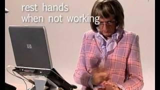 Backshop RSI & Ergonomics: Workplace usage