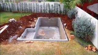 видео Бассейн в бане своими руками: как построить и сделать маленький мини бассейн, устройство небольшого бассейна из пластика в сауне