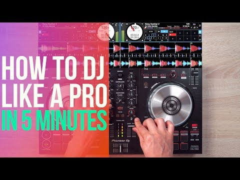 THE FIRST DJ TRANSITION YOU NEED TO LEARN
