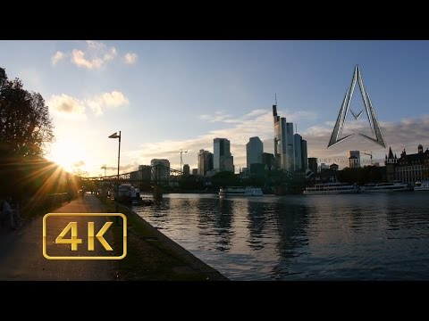 FRANKFURT AM MAIN in 4K | GERMANY