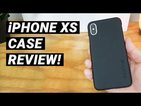 incipio-feather-ultra-thin-case-for-iphone-xs---review!-(fall-2018)