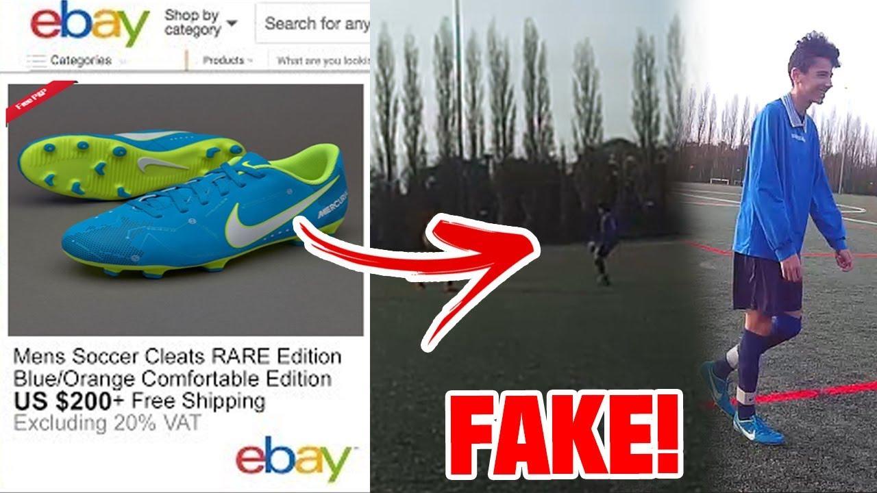 a6dd97d6bbf Wearing FAKE Neymar Nike Mercurial in a REAL GAME! ( I SCORED A GOAL) !!
