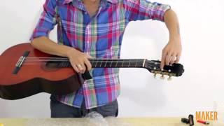 Maker.vn - Thay dây đàn guitar cổ điển - 4 - Ngắm thành quả