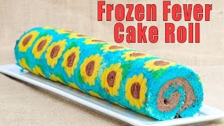 FROZEN FEVER CAKE ROLL, HANIELA