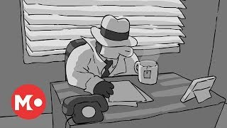 Baman Piderman - Noir Detective