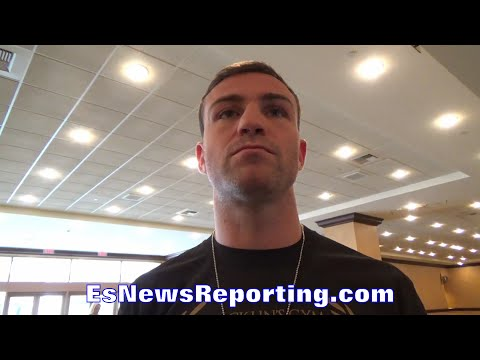 MATTHEW MACKLIN REVEALS WHO'S GREATER SERGIO MARTINEZ OR GENNADY GOLOVKIN - EsNews Boxing