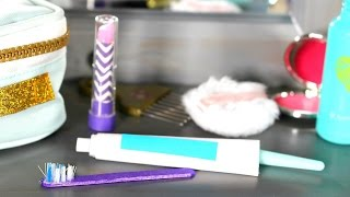 DIY American Girl Doll Toothbrush & Toothpaste