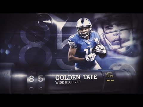 #85 Golden Tate (WR, Lions) |  Top 100 Players of 2015