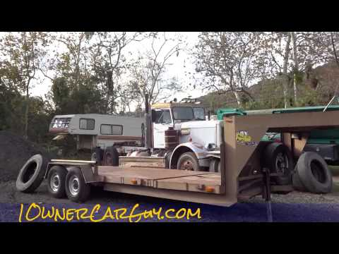 End Dump Trucks & Pups Simi For Sale Used Equipment Trailers Video