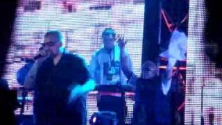 Баста live @ MILK 20-04-2010 - Ходим По Краю (feat. Guf)