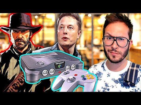 La Nintendo 64 Mini fuite ? COD Black Ops 4 carton ou four ? Poids Red Dead 2 Xbox One...
