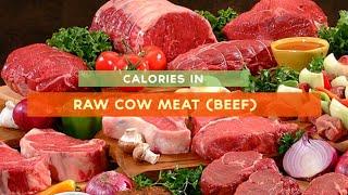 Calories In Beef [raw, Beef Steak, Beef Stew]