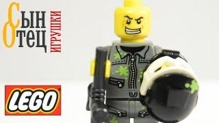 Мини-фигурки ЛЕГО - Пейнтболист | LEGO minifigures - Paintball Player| 10 серия - Mr. Gold(Ссылки на мой блог в ВК и ФБ: http://vk.com/sinotecigrushki http://facebook.com/SinOtecIgrushki., 2013-09-26T09:19:13.000Z)