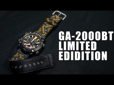 LIMITED EDITION G-SHOCK GA-2000BT-1A - UNBOXING