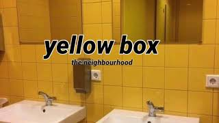 yellow box by the neighbourhood plays in a bathroom at a party
