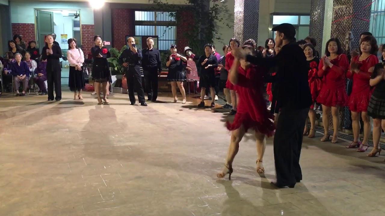 彰化永芳社區的舞蹈活動 2019.12.25