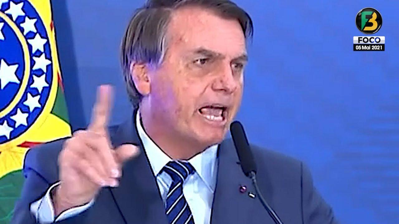 URGENTE! Bolsonaro reage às manifestações nas ruas e desabafa! fala sobre nova guerra, CPI e mais!
