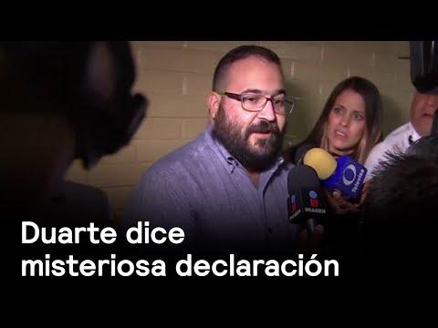 Duarte rinde misteriosa declaración - Corrupción - En Punto con Denise Maerker