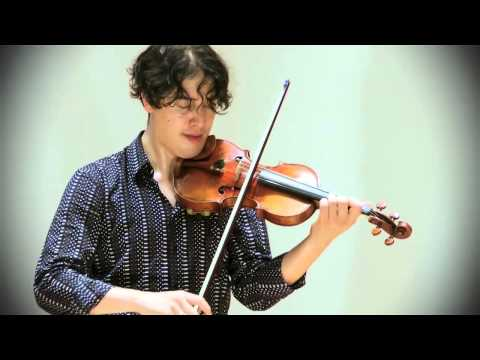"Ysaÿe: Sonata no. 3 in d minor ""Ballade""; Noé Inui, violin"