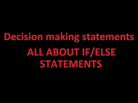 Tutorial 16 | All about if/else statements | C programming thumbnail