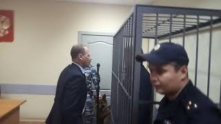 После оглашения решения суда об аресте Эдуарда Воронина