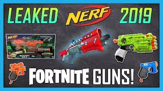 NEW & LEAKED 2019 Nerf Guns! Fortnite Nerf Guns, Shadow, Rukkus, Quadrot & more! | Nerf News