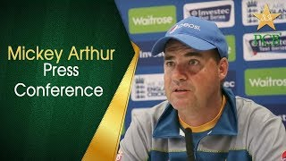 Mickey Arthur press conference after day two at Leeds | PCB