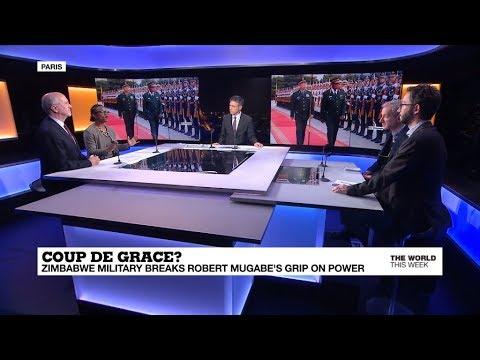 Military pressures Robert Mugabe to step down, Macron mediates Lebanon crisis