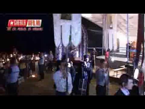 Manastirea Nicula - noaptea Adormirii Maicii Domnului