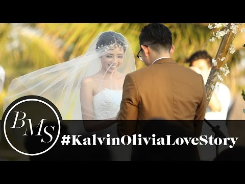 The Most Beautiful Wedding in Bali   Kalvin Lie and Olivia Lazuardy
