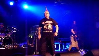 THE EXPLOITED - Troops Of Tomorrow - Punk & Disorderly 2015 - Astra - Berlin 18.04.2015