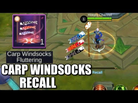 NEW RECALL CARP WINDSOCKS!