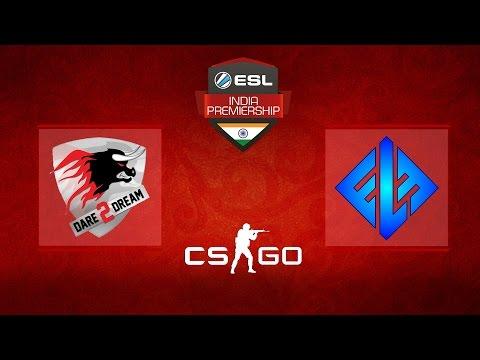 Dare 2 Dream Vs Team Elements - CS:GO Semifinals - Map 2