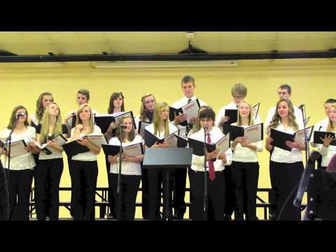 "St Henry District High School Chamber Choir - ""Angels We Have Heard On High"""