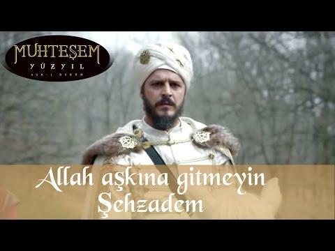 """""""Allah aşkına gitmeyin Şehzadem"""" - Muhteşem Yüzyıl 123. Bölüm"""