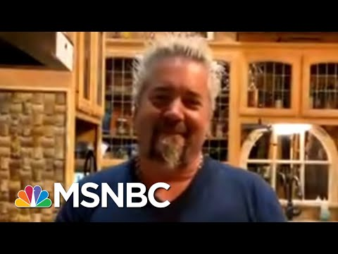 Guy Fieri Sets Out To Help Restaurant Employees | Morning Joe | MSNBC