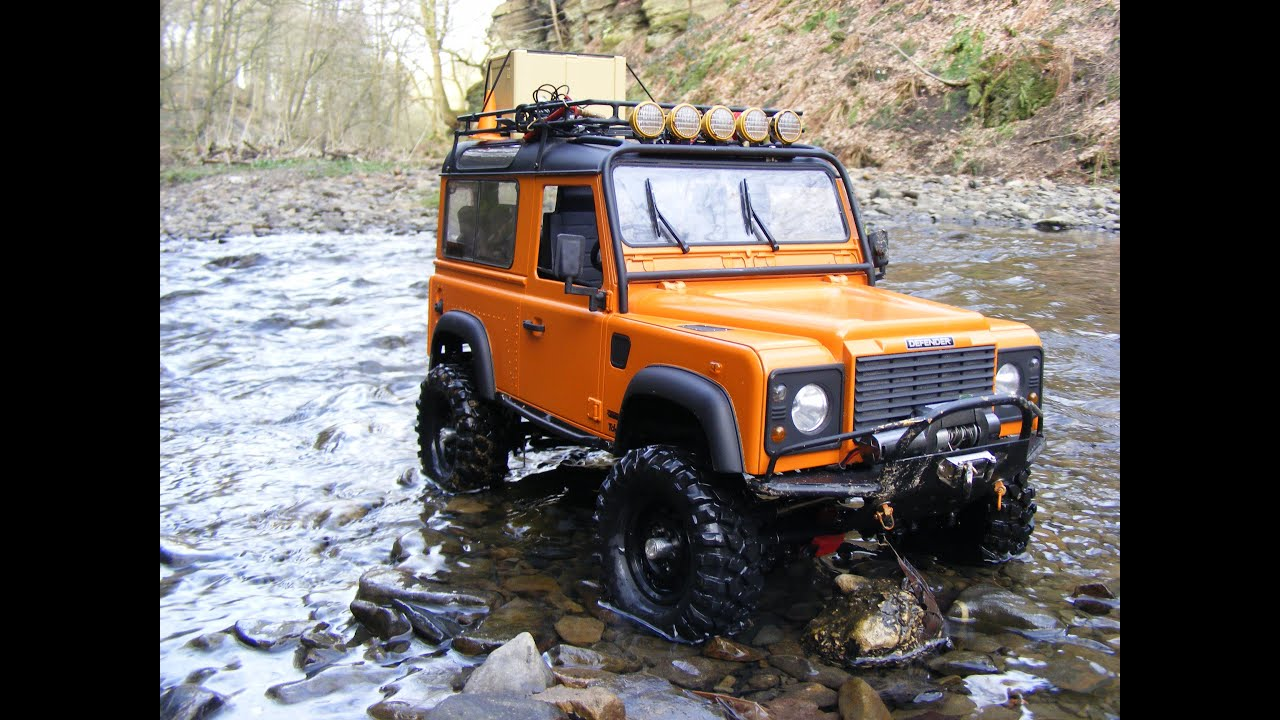Rc4wd Gelande 1 Rc Land Rover D90 1 10 Scale Trailing