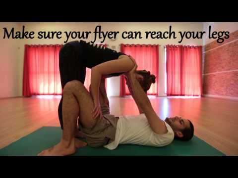 AcroYoga For Beginners #3 - Basic Inversions Part 1