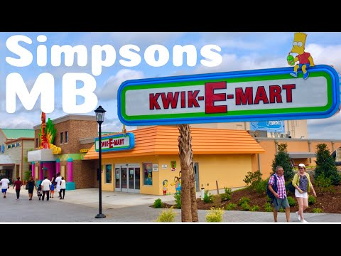 """""""The Simpsons"""" Kwik E Mart In Myrtle Beach, SC   Tour And Overview   Broadway At The Beach"""
