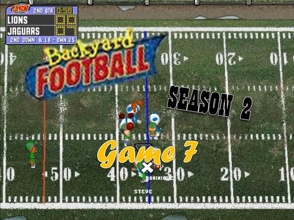 Backyard Football 1999 (PC) (SEASON 2) Game 7: Who Wants ...