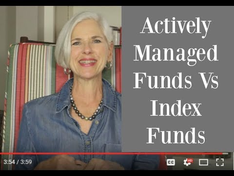 Actively Managed Fund Vs Index Investing