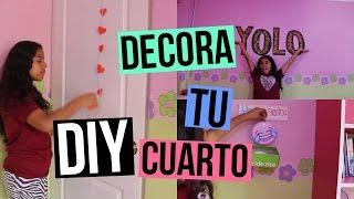 DIY: DECORA TU CUARTO!💕 - Johanna De La Cruz